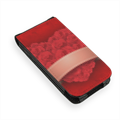 Cuore di fiori Flip cover iPhone4