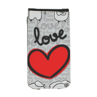 Due anime e un cuore  Flip cover iPhone4