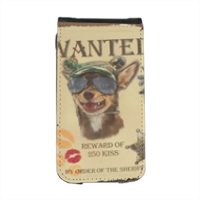 Wanted Rambo Dog Flip cover iPhone4