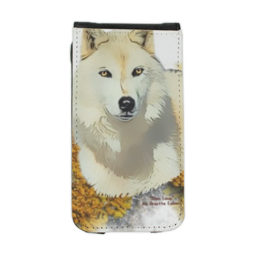 Mon Loup Expecto Patronum Flip cover iPhone4