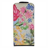 New Flowers Flip cover iPhone5