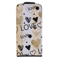 Love and Love Flip cover iPhone5