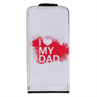 I Love My Dad - Flip cover iPhone5