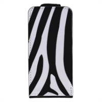 Zebra African Flip cover iPhone5
