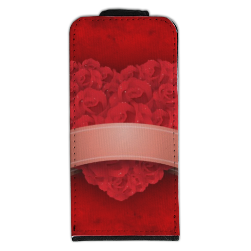 Cuore di fiori Flip cover iPhone5