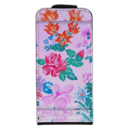 Flowers Flip cover iPhone5