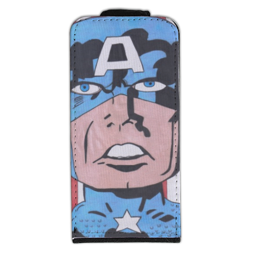 CAPITAN AMERICA 2014 Flip cover iPhone5