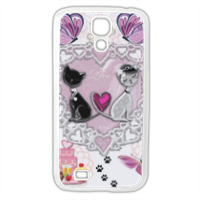 Sweet Love with Dog Cover Samsung Galaxy S4