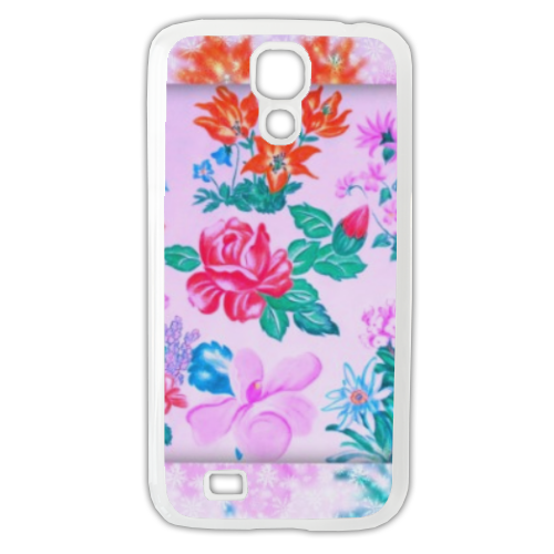 Flowers Cover Samsung Galaxy S4