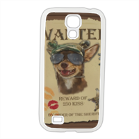 Wanted Rambo Dog Cover Samsung Galaxy S4 gomma