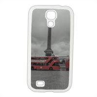 London Trafalgar Square Cover Samsung Galaxy S4 gomma
