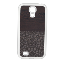 Wenge and Gothic Cover Samsung Galaxy S4 gomma