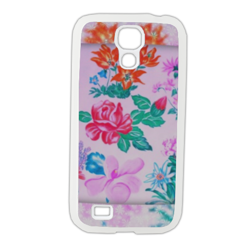 Flowers Cover Samsung Galaxy S4 gomma