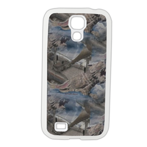 Lyon Rampant Cover Cover Samsung Galaxy S4 gomma