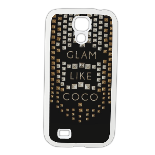 Glam Like Coco Cover Samsung Galaxy S4 gomma