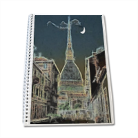 La Mole Antonelliana Block Notes A4