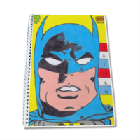 BATMAN 2014 Block Notes A4