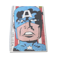 CAPITAN AMERICA 2014 Block Notes A4