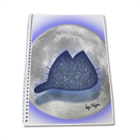 KAT AND MOON by NYA Block Notes A4