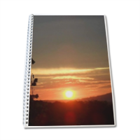 Tramonto in Toscana Block Notes A4