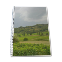 Temporale in Toscana Block Notes A4