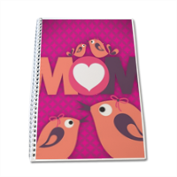 Mamma I Love You - Block Notes A4