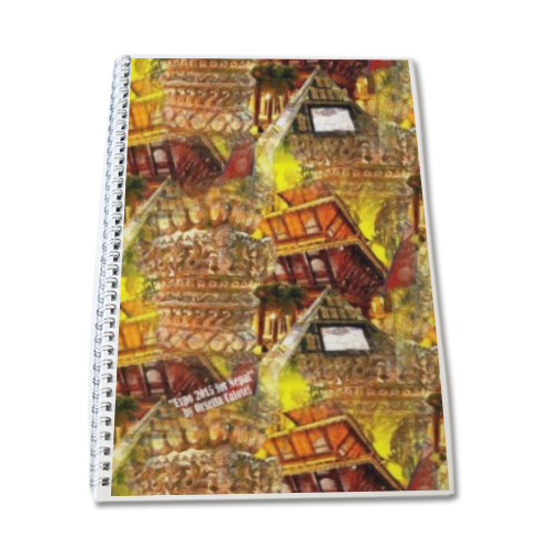 Nepal Padiglione Expo 2 Block Notes A4
