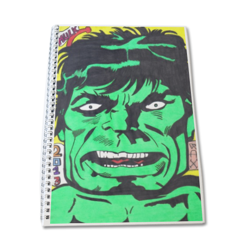 HULK 2013 Block Notes A4