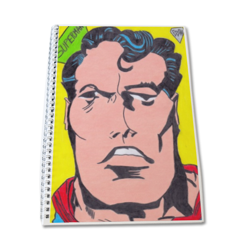 SUPERMAN 2014 Block Notes A4