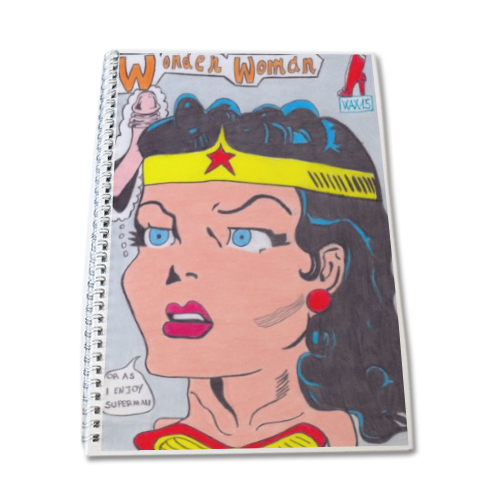 WONDER WOMAN 2015 Block Notes A4