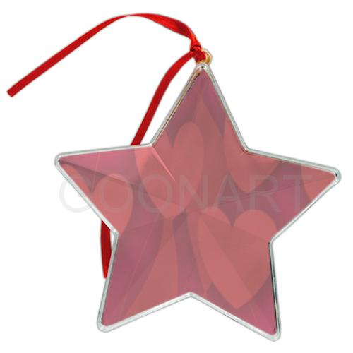 decorazione a stella per albero di Natale