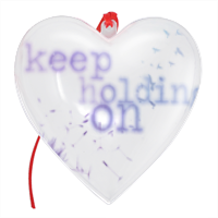 keep holding on Cuore Natale