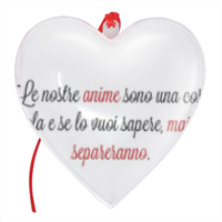 Frase Amore2 - Cuore Natale