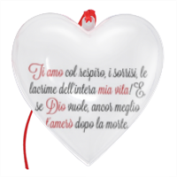 Frase Amore3  - Cuore Natale