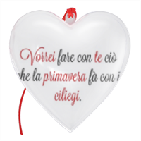 Frase Amore 4 - Cuore Natale