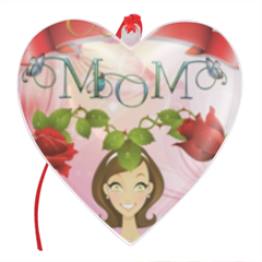 Best Mom Palla di natale cuore