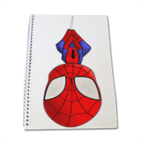 Spiderman Quaderno A4