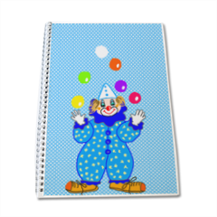 clown Quaderno A4
