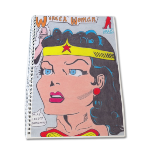 WONDER WOMAN 2015 Quaderno A4