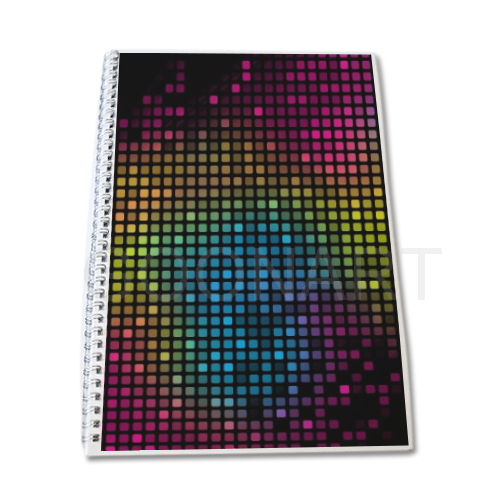 quaderno pixelato
