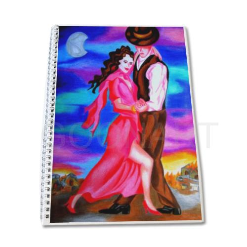 quaderno con copertina creativa