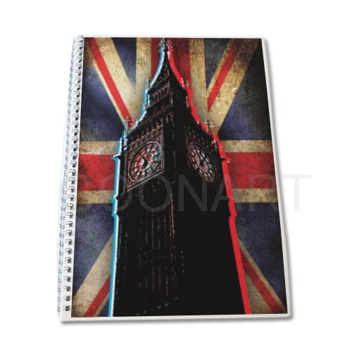 quaderno con big ben