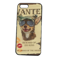 Wanted Rambo Dog Cover iPhone 5S