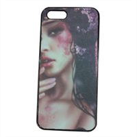 Oriental Woman Cover iPhone 5S