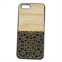Bamboo Gothic Cover iPhone 5S