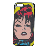 BLACK WIDOW Cover iPhone 5S