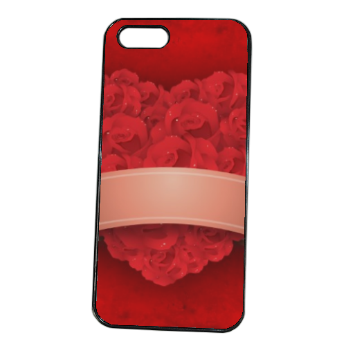 Cuore di fiori Cover iPhone 5S