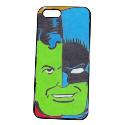 THE COMPOSITE SUPERMAN Cover iPhone 5S