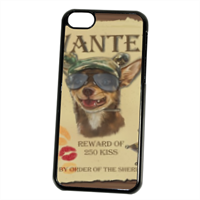 Wanted Rambo Dog Cover iPhone 5C