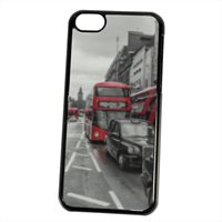 London red and white Cover iPhone 5C